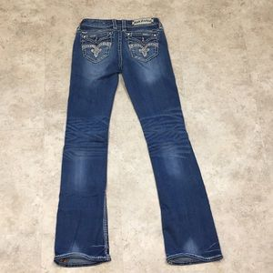 Rock Revival Jeans Jillian Easy Boot 27x33